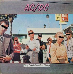 { record.artist }} - Dirty Deeds, done dirt cheap